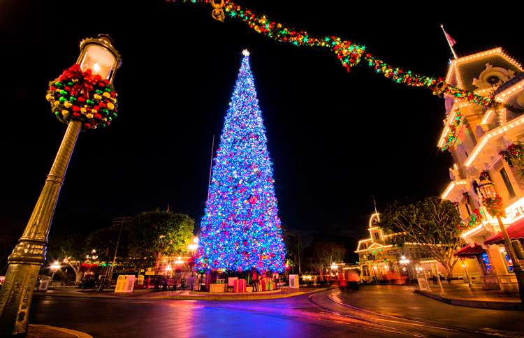 Guideposts: Disneyland's tree stands 60 feet tall and is decorated with more than 1,800 ornaments and 70,000 lights